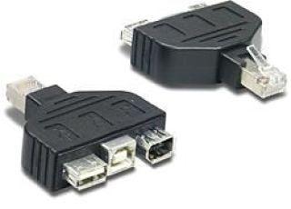TRENDnet TC-NTUF - Adaptateur USB et Firewire pour TC-NT2