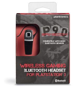 PLANTRONICS Gamecom P90 - Oreillette Bluetooth pour PS3 ¬
