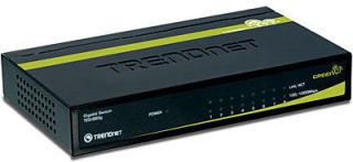 TRENDnet TEG-S80g - Switch 8 ports Gigabit GREENnet - Boitier métal