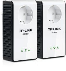 TP-LINK TL-PA551KIT - Kit de 2 CPL 500 Gigabit avec prise ¬.