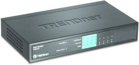 Switch 8 ports Ethernet PoE - TPE-S44  - Noir